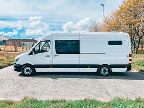 Stunning Mercedes Sprinter Van Interior, Modern Style Conversion.