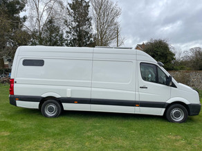 NEW Volkswagen Crafter with carbon monoxide detector & child bunk bed Conversion.