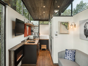 Beautiful Modern Tiny home with all the Comforts you Need.