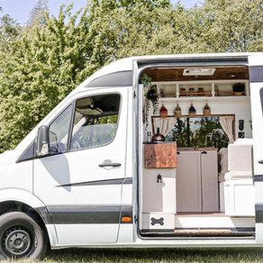 Stunning Mercedes Sprinter very light and airy space Conversion.
