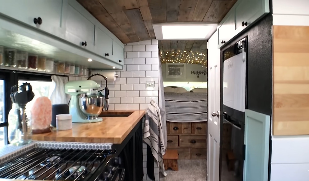 Beautiful Skoolie Conversion For $27,000| Bus Life.