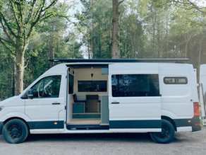 VW CRAFTER conversion executed with huge attention to detail.