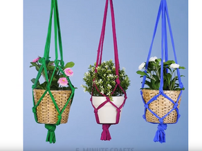 Make your own flower holder from a shirt that you don't wore no more.