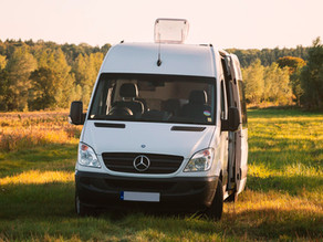 Beautifully fitted, unique Mercedes campervan.