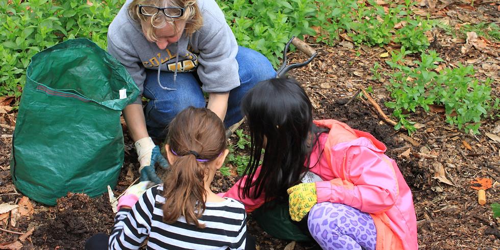 Spring planting at the K4E garden!