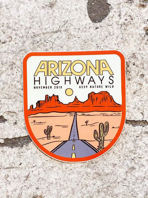 Arizona Highways Sticker