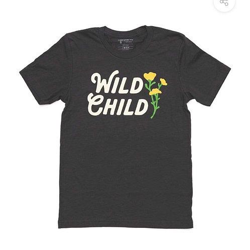 Wild Child Charcoal Tee