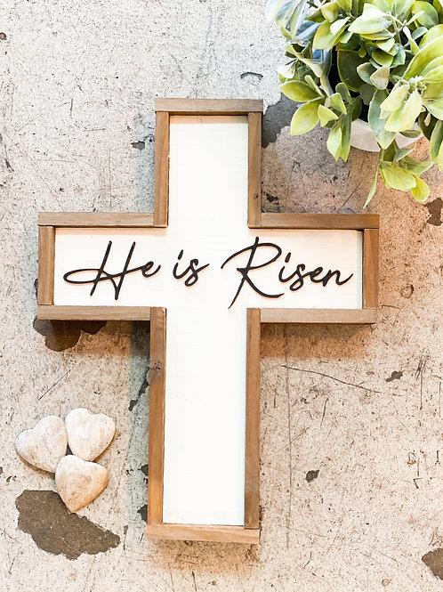 He is Risen Cross