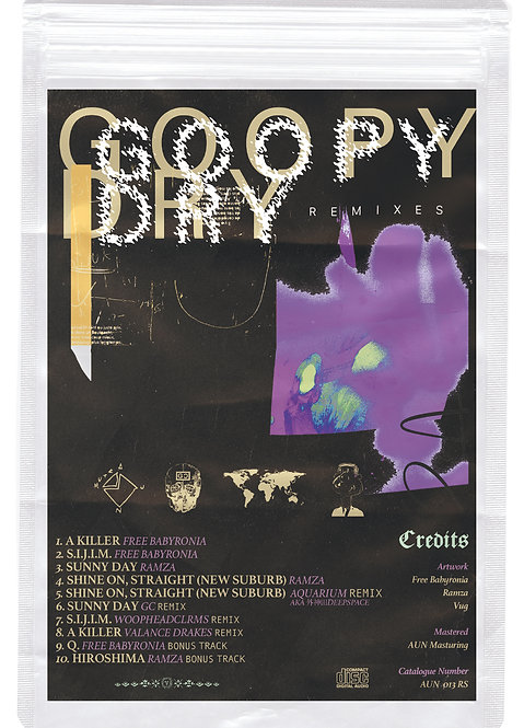 Free Babyronia / Ramza - GOOPY DRY REMIXES (CD)