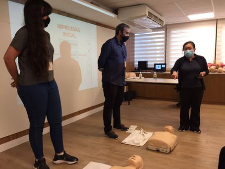 Focando em salvar vidas, SBC promove curso de primeiros-socorros para colaboradores