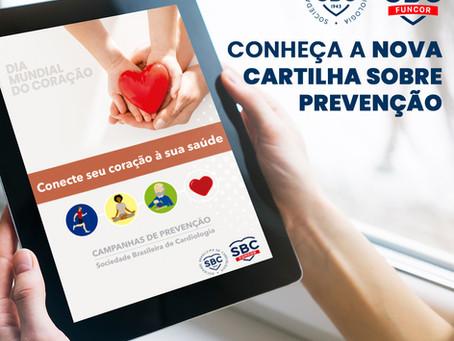 Diretoria de Promoção de Saúde Cardiovascular lança cartilha com dicas para o bem-estar do coração