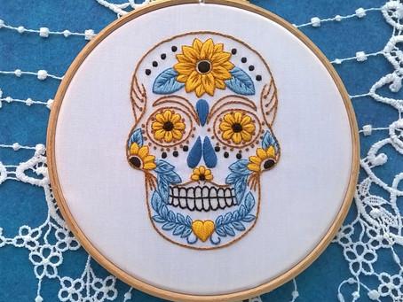 un nouveau kit de broderie / a new embroidery kit