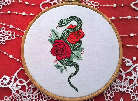 A new Embroidery kit is available now.