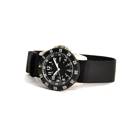 MWC P656 Tactical Series Watch with GTLS Tritium (Silver / Black)