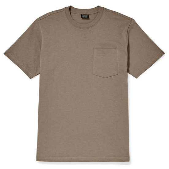 Filson Outfitter Solid Pocket T-Shirt Dark Mushroom