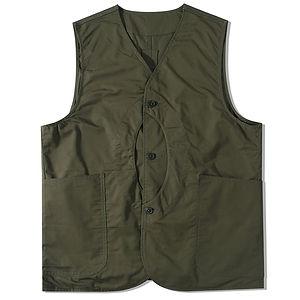 STANDARDTYPES Reversible Outdoor Vest Green