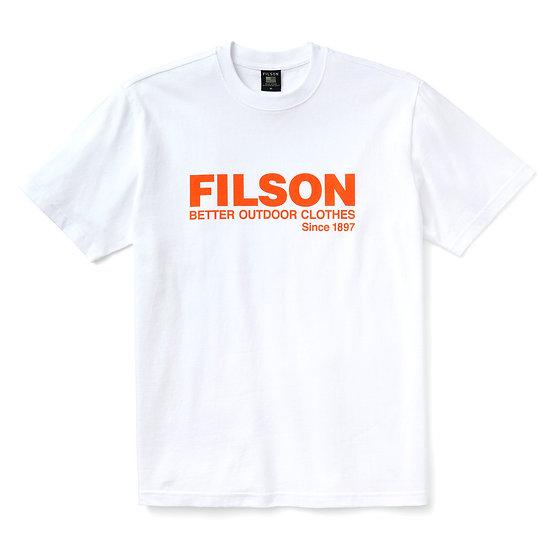 FILSON Pioneer Graphic White