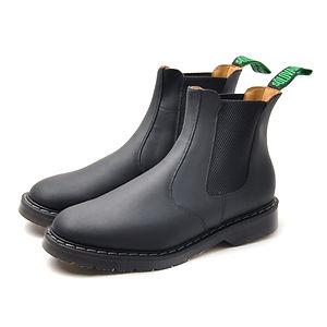 SOLOVAIR Greasy Dealer Boot Black