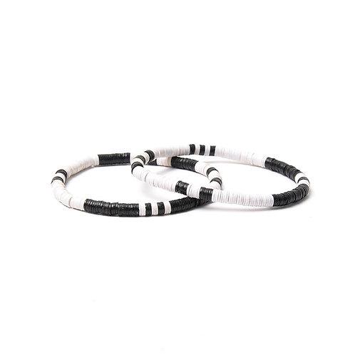 BRANCO Yin Yang Bracelets Black & White