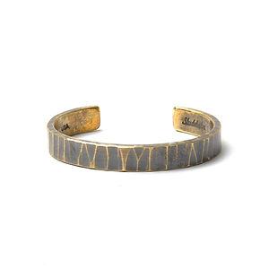 Bessemer Cuff Work Patina Brass