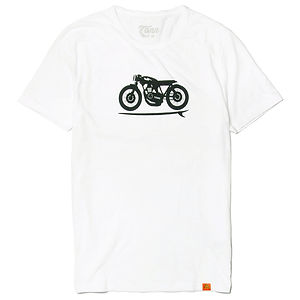 TONN Cafe Racer T-Shirt White