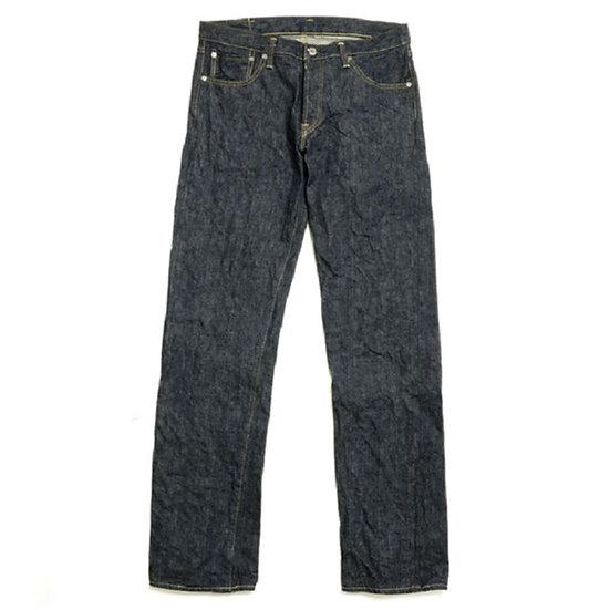 BURGUS PLUS 955-XX Natural Indigo Selvedge Jeans 1955 Model One Wash