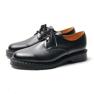 SOLOVAIR 3 Eye Gibson Shoes Black