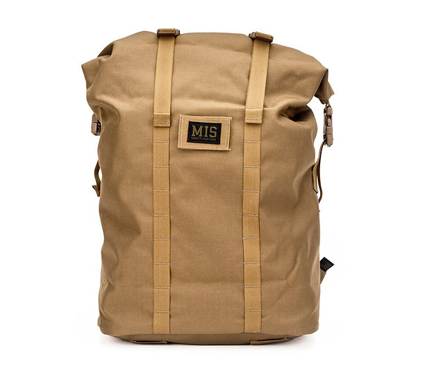 MIS Roll Up Backpack Coyote Brown