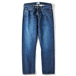 JAPAN BLUE JEANS Prep 13.5oz Côte D'Ivoire Cotton Vintage Selvedge Jeans Washed