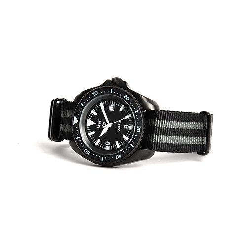 "MWC 1999-2001 Pattern Quartz Military Divers Watch on ""James Bond"" NATO Strap"