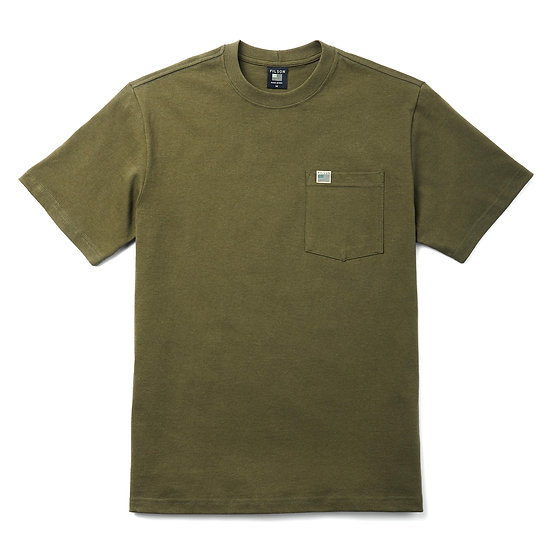 FILSON Pioneer Pocket T-Shirt Dark Olive