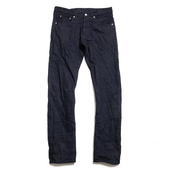 BURGUS PLUS 850-ST 15oz Indigo x Black Selvedge Slim Tapered Jeans