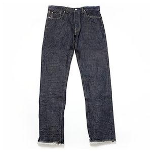 BURGUS PLUS 770-22 15oz Standard Selvedge Jeans One Wash
