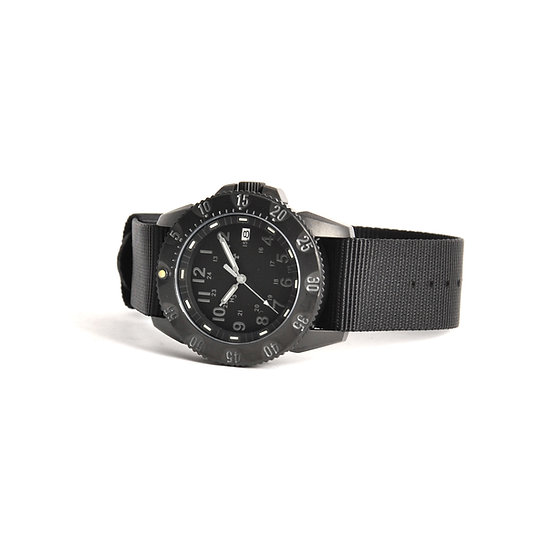 MWC P656 Tactical Series Watch with GTLS Tritium (All Black)