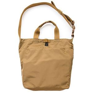 MIS 2 Way Shoulder Bag Coyote Brown