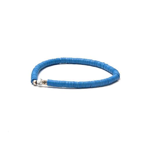 BRANCO Vinyl Bracelet Blue