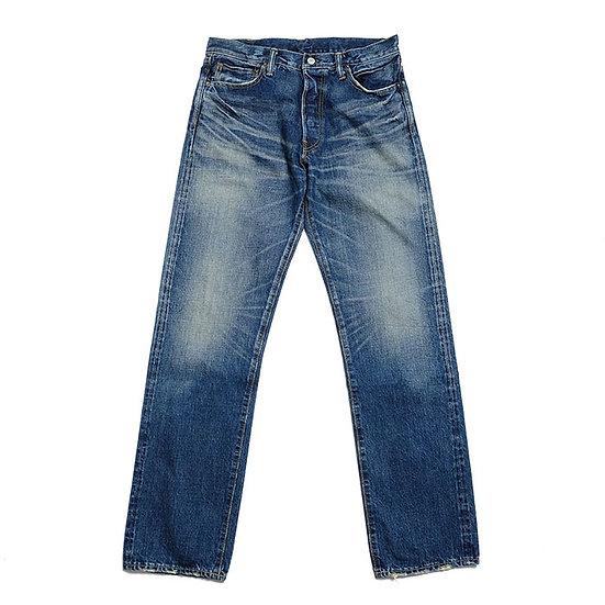 BURGUS PLUS 770-12 15oz Standard Selvedge Jeans Mid Used