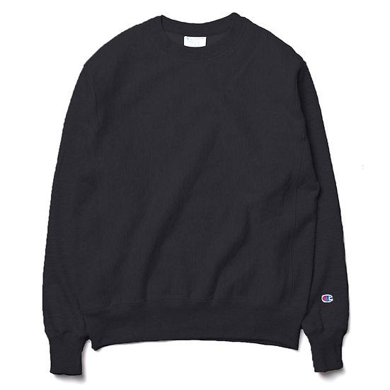 CHAMPION Reverse Weave Sweatshirt Black