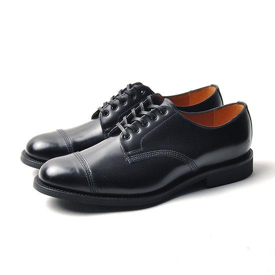 SANDERS Picusa Gibson Toe Cap Shoe Black