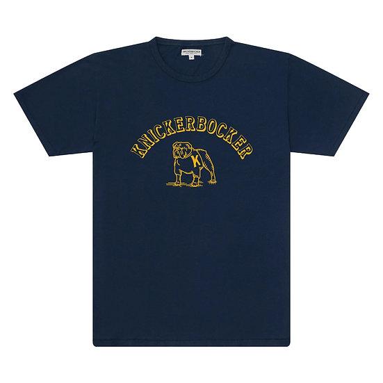 KNICKERBOCKER Varsity T-Shirt Navy