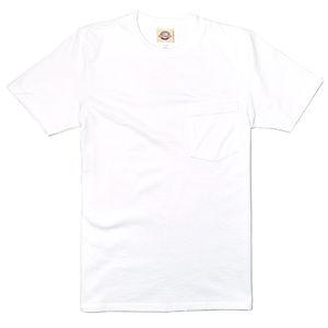 GOODWEAR Modern Fit Crew Neck Pocket Tee Shirt White