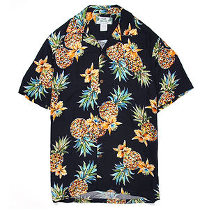 TWO PALMS Golden Pineapple Navy