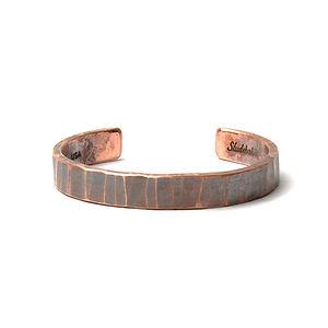 Bessemer Cuff Work Patina Copper