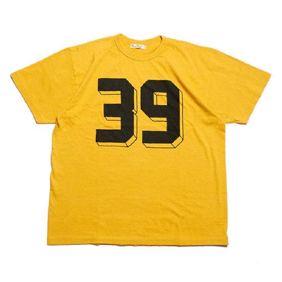 "BURGUS PLUS Print Tee ""39"" Yellow"