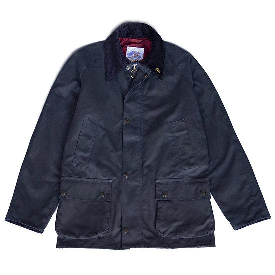 JOHN PARTRIDGE Landowner Wax Walking Jacket Navy
