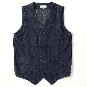 JAPAN BLUE JEANS 12oz Tweed Denim Urban Vest