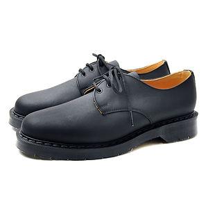 SOLOVAIR Greasy Gibson Shoe Black