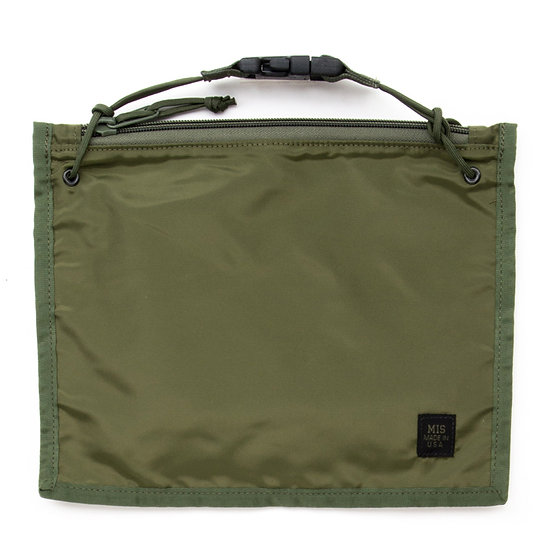MIS 2 Way Pouch Olive Drab