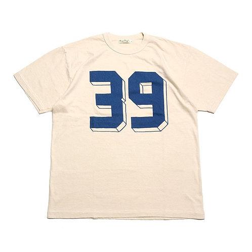 "BURGUS PLUS Print Tee ""39"" Cream"
