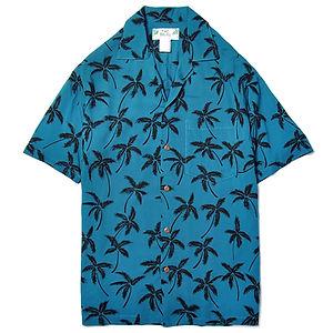 TWO PALMS Palm Tree Blue